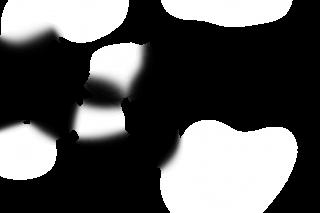 Fondo transparente con manchas oscuras