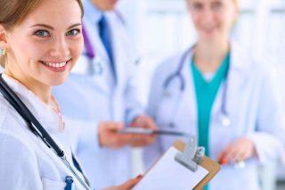 Imagen de doctoras jóvenes