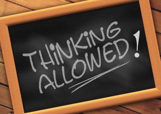 Imagen de tablón Thinking Allowed