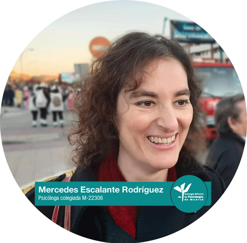 Mercedes Escalante Rodríguez Psicóloga colegiada