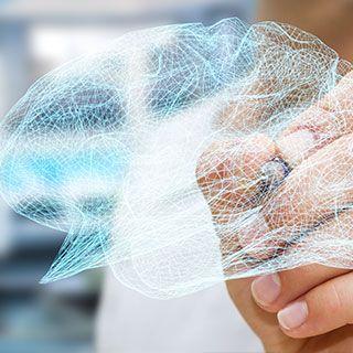 Dibujando imagen virtual de neuropsicología