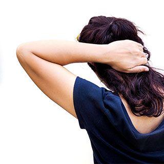 Mujer en consulta de neuropsicologia
