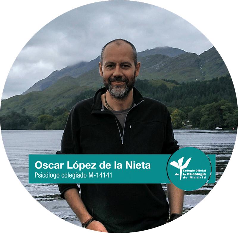 Óscar López de la Nieta Psicólogo colegiado